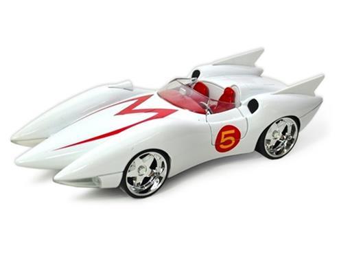 Speed Racer: Mach 5 - 1:24