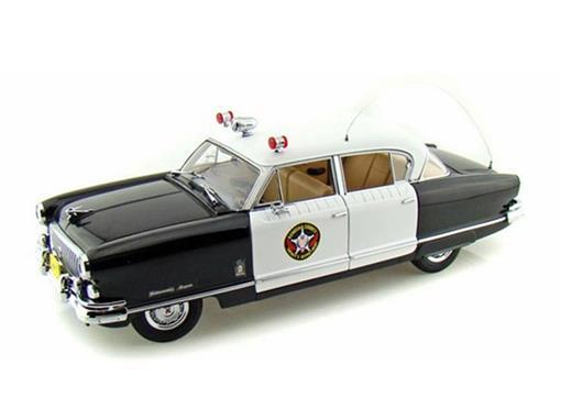 Nash: Ambassador Airflyte Polícia (1952) -  1:18
