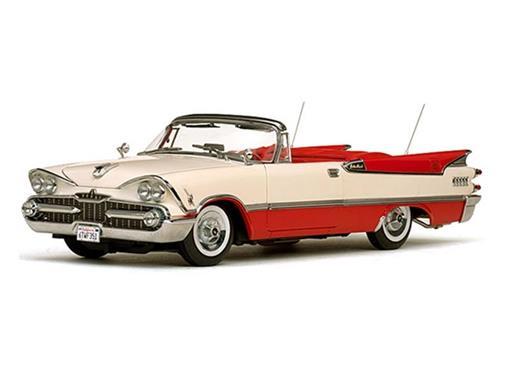 Dodge: Custom Royal Lancer Conv. (1959) - Vermelho/Creme - 1:18