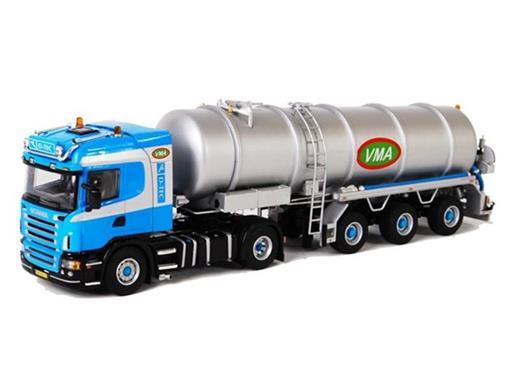 Scania: R Highline 4x2 - (VMA) - Tanque - Azul - 1:50