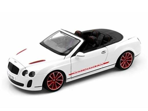 Bentley: Continental Supersports Convertible ISR - Branco - 1:18