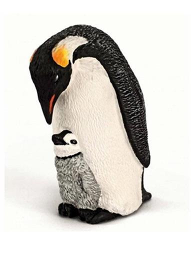 Pinguim Imperador com Filhote