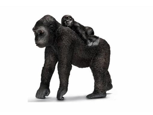 Gorila Fêmea com bebê