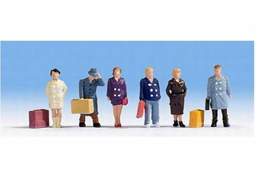 Figuras de Viajantes / Passageiros - HO