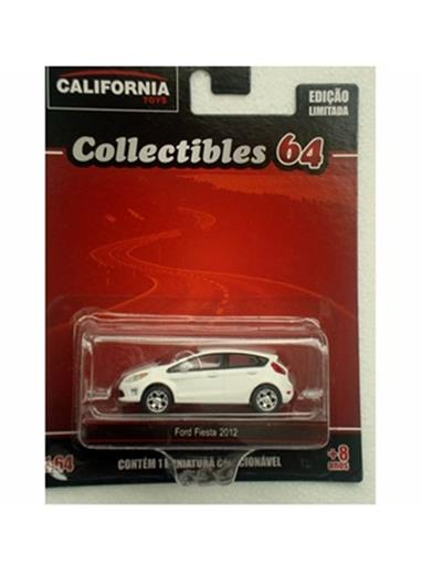 Ford: Fiesta (2012) - California Toys - Branco - 1:64