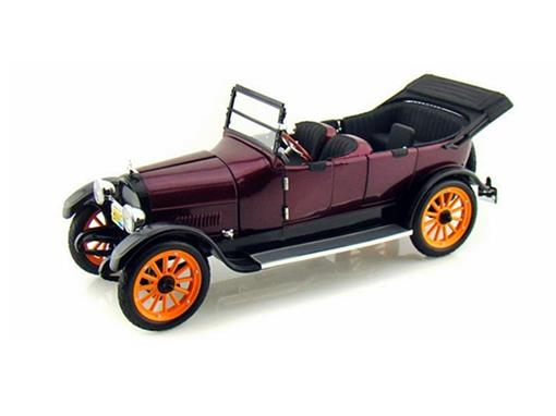 Reo: Touring (1917) - Vermelho - 1:18