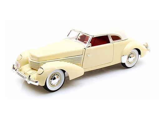 Cord: 810 (1936) - Amarelo - 1:18