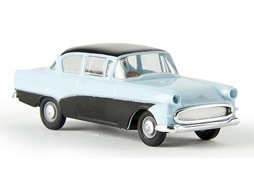 Opel: Rekord P1 - Azul/Preto - HO