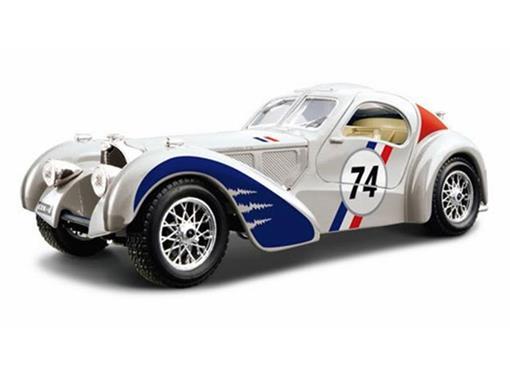 Bugatti: Atlantic #74 - Prata - 1:24