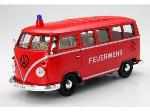 Volkswagen: Kombi - Bombeiros - (1962) - 1:24