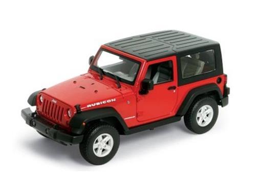 Jeep: Wrangler Rubicon (2007) - 1:24
