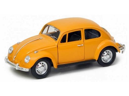 Volkswagen: Beetle Fusca (1967) - Amarelo - 1:24
