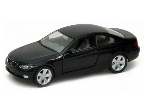 BMW: 335i Coupe (2007) - Preta - 1:24