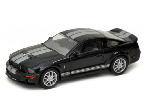 Ford: Shelby GT500 (2007) - Preto - 1:24