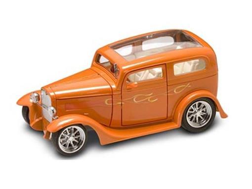 Ford: Model A Sedan (1931) - Laranja - 1:18