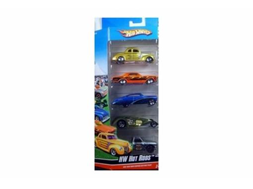 Set: 5 Miniaturas HW Hot Rods - 1:64