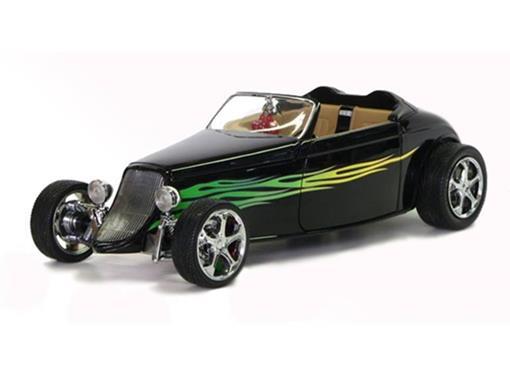 Ford: Conversível (1933) - Preto - 1:18