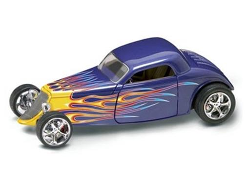 Ford: Coupe (1933) - Azul - 1:18