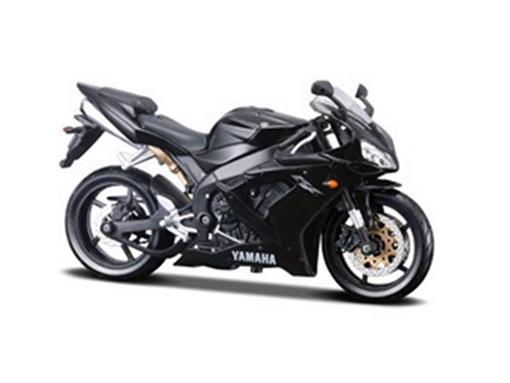 Yamaha: YZF R1 - Preta - 1:12