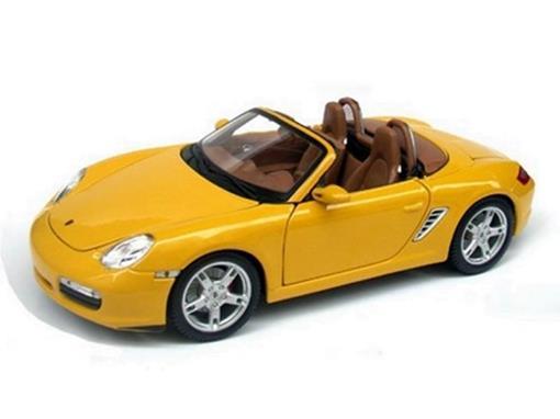 Porsche: Boxster S - Amarelo - 1:18