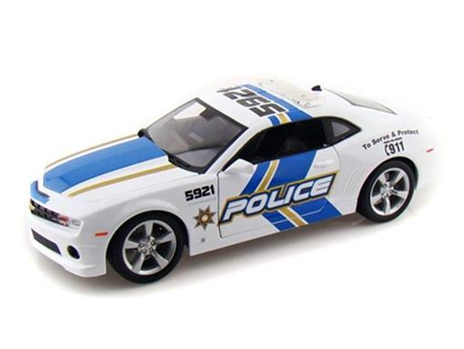 Chevrolet: Camaro SS RS (2010) - Policia - 1:18
