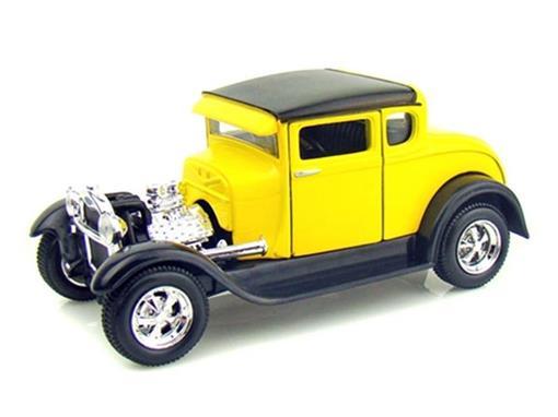 Ford: Model A (1929) - Amarelo - 1:24 - Maisto
