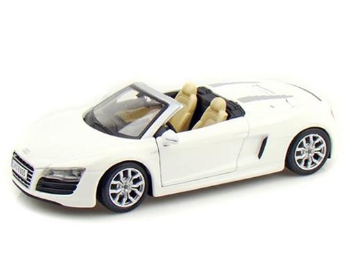 Audi: R8 Spyder - Branco - 1:24