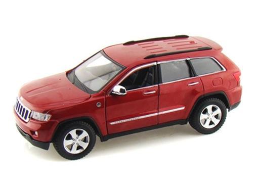 Jeep: Grand Cherokee Laredo - Vermelha - 1:24