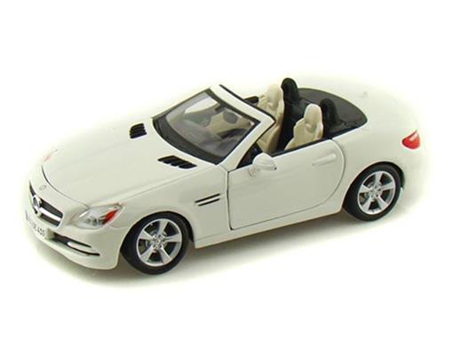 Mercedes Benz: SLK-Class - Branca - 1:24