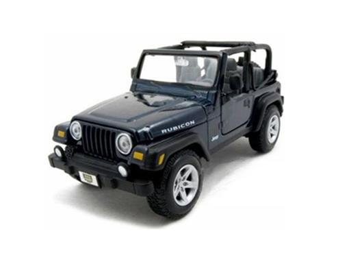 Jeep: Wrangler Rubicon - Preto - 1:27