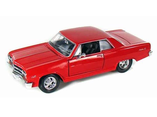 Chevrolet: Malibu SS (1965) - Vermelho - 1:24 - Maisto