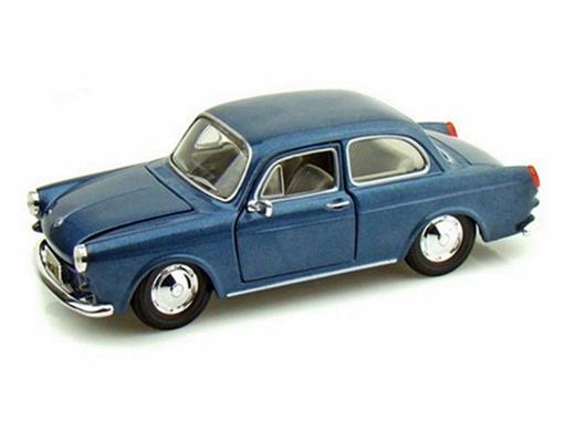 Volkswagen: 1600 Notchback - Azul - 1:24