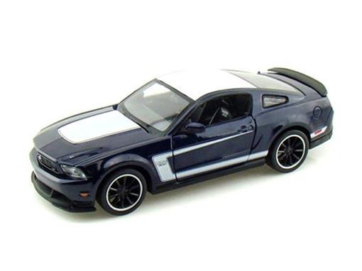Ford: Mustang Boss 302 - Azul - 1:24 - Maisto