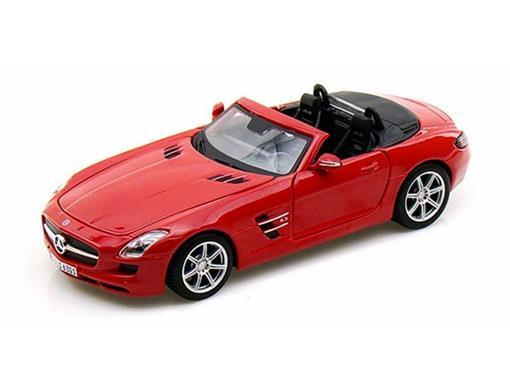 Mercedes Benz: SLS AMG Roadster - Vermelha  - 1:24