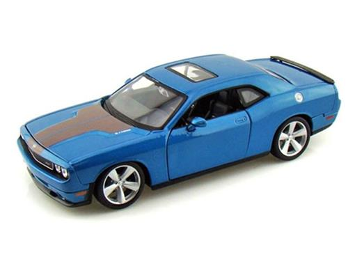 Dodge: Challenger SRT8 (2008) - Azul - 1:24