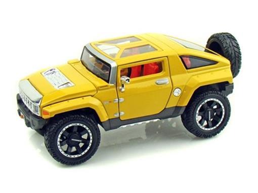 Hummer: HX Concept (2008) Amarelo - 1:24