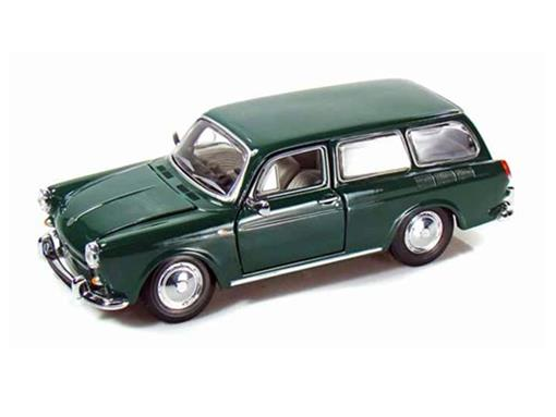 Volkswagen: 1600 Squareback (1967) - Verde - 1:24
