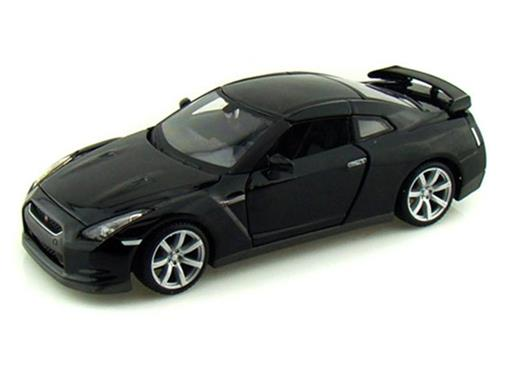 Nissan: GT-R (2009) - Preto - 1:24 - Maisto