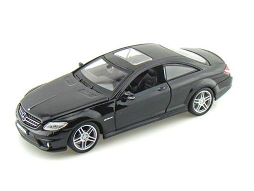 Mercedes Benz: CL63 AMG - Preta - 1:24