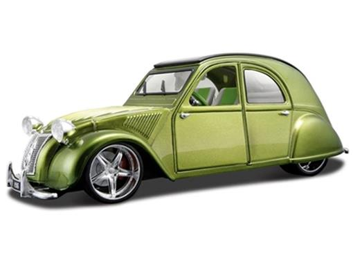 Citroen: 2CV (1952) - Verde - 1:18