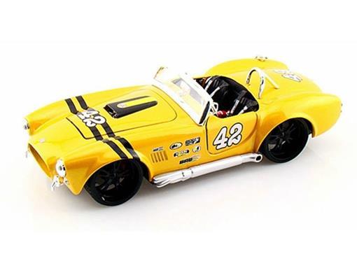 Ford: Shelby Cobra 427 (1965) - Amarelo - AllStars - 1:24