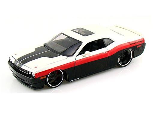 Dodge: Challenger - AllStars - Branco - 1:24