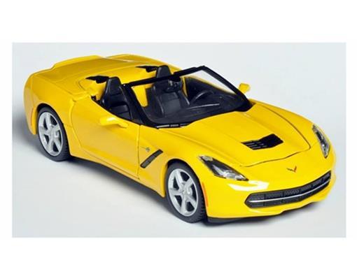 Chevrolet: Corvette Stingray Convertible (2014) - Amarelo - 1:24