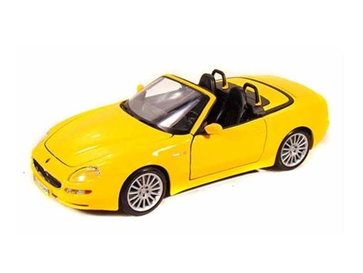 Maserati: Spyder - Amarelo - 1:18