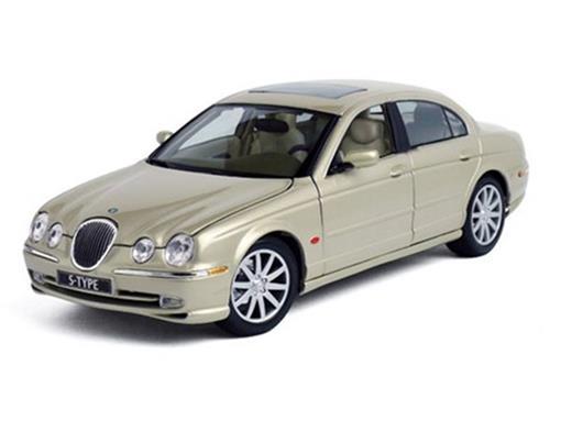 Jaguar: S-Type - Dourado - 1:18