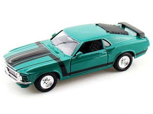 Ford: Mustang Boss 302 (1970) - Verde - 1:24