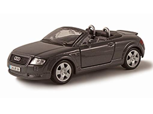 Audi: TT Roadster - Preto - 1:24