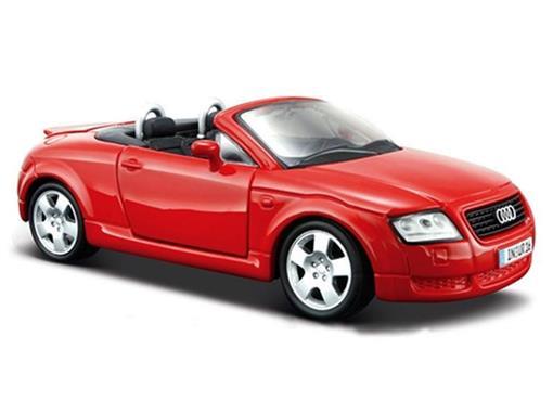Audi: TT Roadster - Vermelho - 1:24