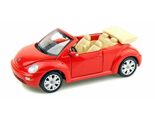Volkswagen: New Beetle - Conversível - Vermelho - 1:25