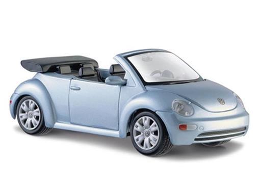 Volkswagen: New Beetle - Conversível - Azul - 1:25